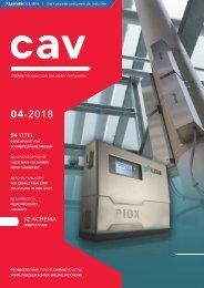 cav - Prozesstechnik für die Chemieindustrie  04.2018