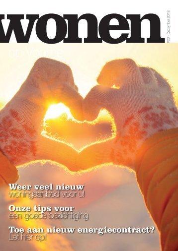 Wonen op Voorne, uitgave december 2018