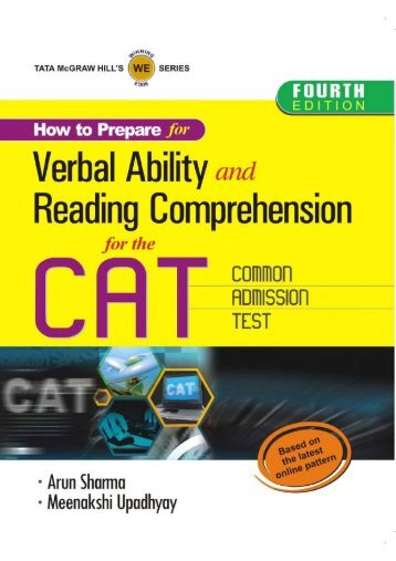 Verbal Ability & Reading Comprehension for CAT - Arun Sharma (1)