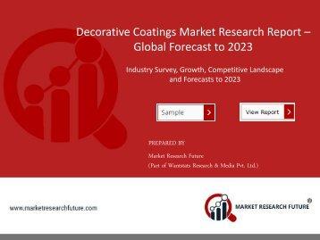 Decorative Coatings Market PDF