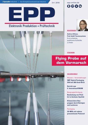EPP Elektronik Produktion + Prüftechnik 03-04.2018