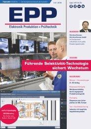 EPP Elektronik Produktion + Prüftechnik 05-06.2018