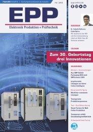 EPP Elektronik Produktion + Prüftechnik 07-08.2018