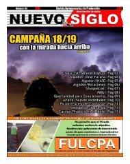 Revista Agropecuaria Nuevo Siglo Número 173 - NOVIEMBRE 2018