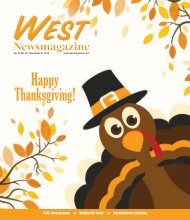 West Newsmagazine 11-21-18