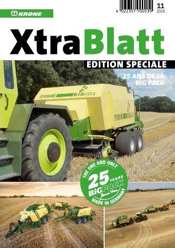 XtraBlatt Edition Speciale 25 ans de la BiG Pack