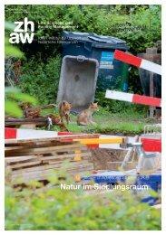 ZHAW - IUNR - CAS Natur im Siedlungsraum