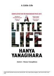 Scaricare Libri A Little Life Gratis Di Hanya Yanagihara