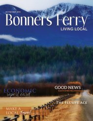 November 2018 Bonners Ferry Living Local