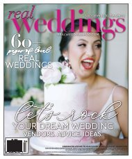 Real Weddings Magazine - Winter/Spring 2019 - The Best Wedding Vendors in Sacramento, Tahoe and throughout Northern California are all here!