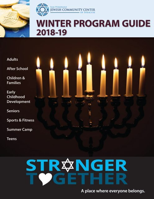 2018-19 Winter Program Guide