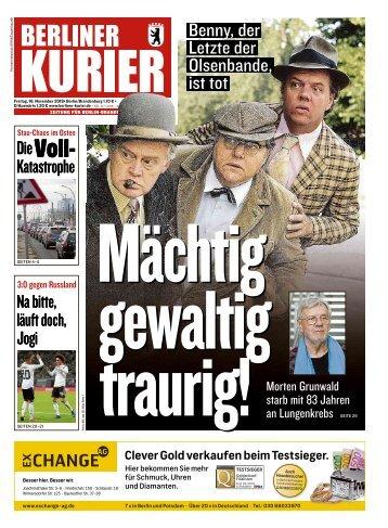 Berliner Kurier 16.11.2018