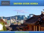 Driver Guide Korea - Korea Taxi Services