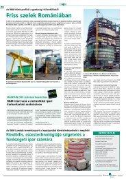 Friss szelek Romániában - Bilfinger Berger Industrial Services