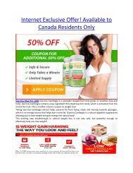 Garcinia Max Pro 1000 use for weight loss