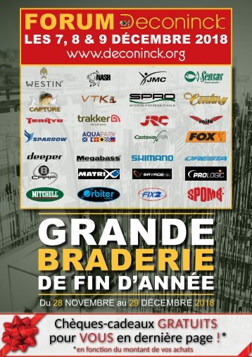 Catalogue Grande Braderie Deconinck