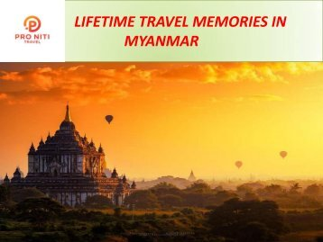 Myanmar Travel Agent