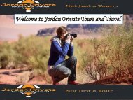 Welcome to Jordan Private Tours and Travel