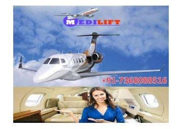 Take Secure and Superior Air Ambulance Service in Kolkata