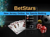 Betstars New Jersey Online for Sports Betting