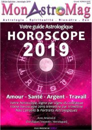 Guide Astro et Horoscope 2019 MonAstroMag
