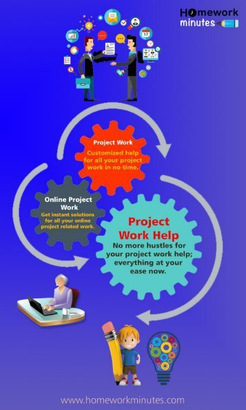 Homework Minutes: Project Assignment Work Help for School or College Students
