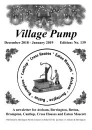 Berrington Village Pump Edition 139 Dec-Jan 2019
