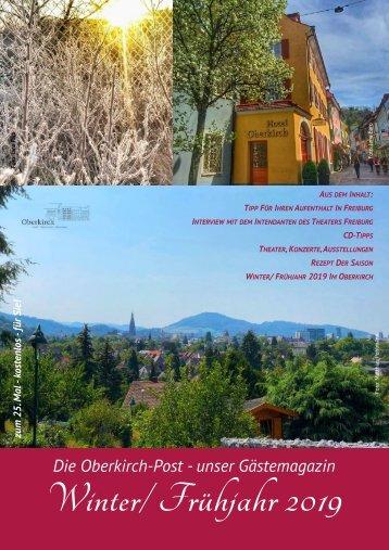 Oberkirchs Winter-Frühjahrspost 2019