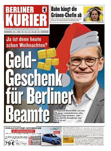 Berliner Kurier 18.11.2018