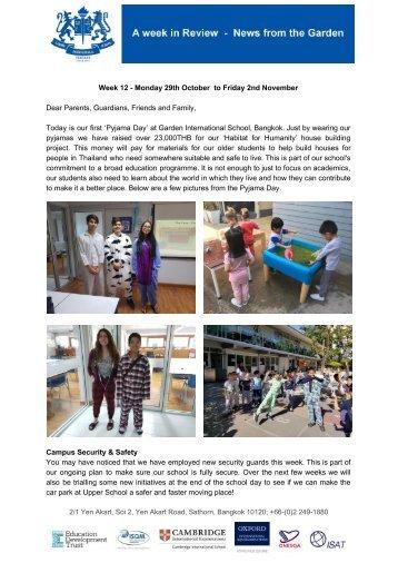 GIS BKK Newsletter Week 12