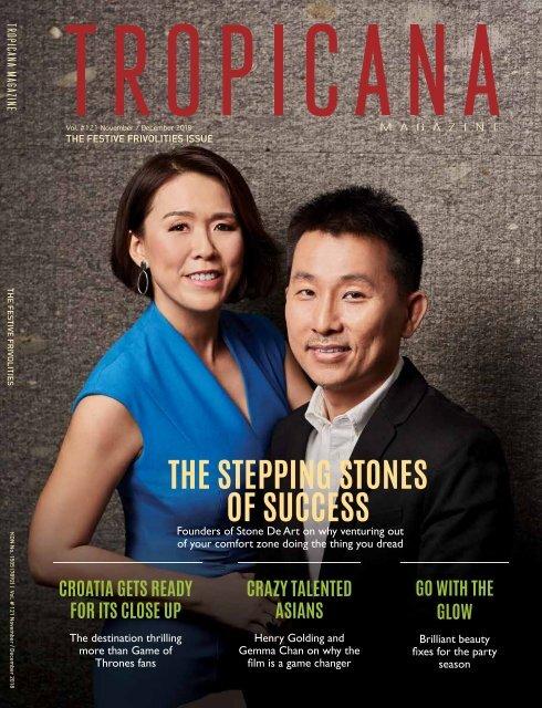 Tropicana Magazine Nov-Dec 2018 #121: Festive Frivolities