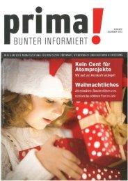prima! Magazin - Ausgabe Dezember 2013