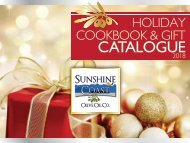 2018-11-15  Holiday Cookbook & Gift Catalogue