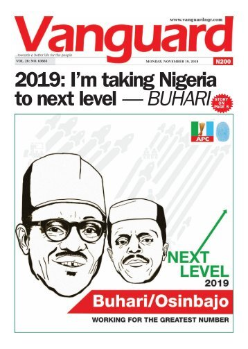 191120218-  2019 I'm taking Nigeria to next level