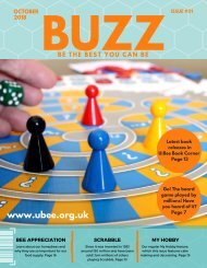 BUZZ ISSUE #01 OCT 2018