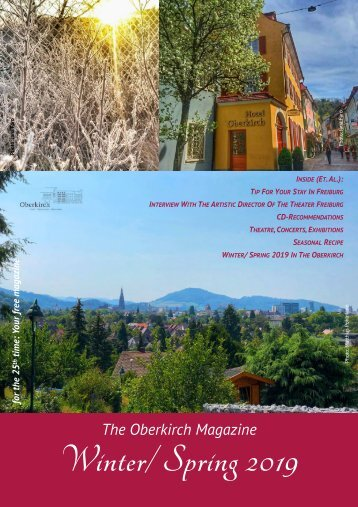 The Oberkirch Magazine - Winter-Spring 2019