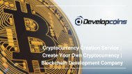 Cryptocurrency Creation Service