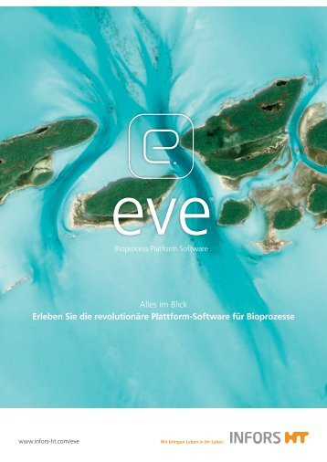 INFORS-HT: eve Bioprozesse Software