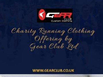 Buy Charity Running Clothing – Gear Club Online Shop