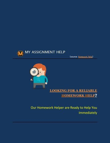 LOOKING FOR A Best HOMEWORK HELP?