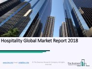 Hospitality Global Market Report 2018