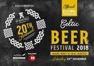Celtic Beer Festival 2018 Programme