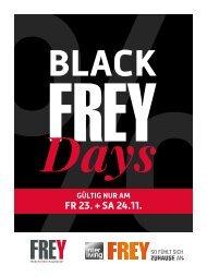 Prospekt Black FREYdays 2018 Cham