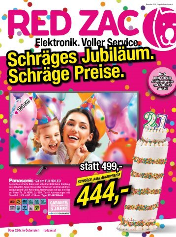 Werbung Geburtstag