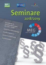 Seminarkalender 2018-2019