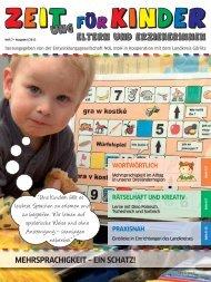 7. Ausgabe - Zeit(ung) für Kinder