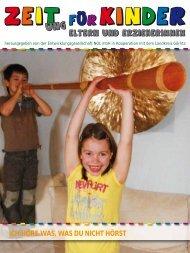 5. Ausgabe - Zeit(ung) für Kinder