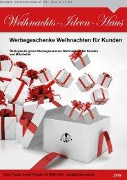 Werbegeschenke Weihnachten katalog Weihnachtsbäume-MF2018