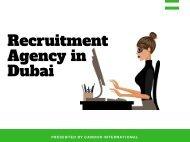 Best Recruitment Agencies in Dubai - Updated - Candor International