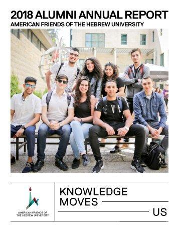 2018 AFHU Alumni Report